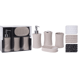 Set De Baño - 4Pcs