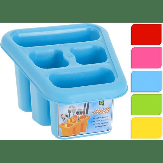 Portacubiertos Plástico
