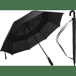 Paraguas 75 Cm. Fibra Negro