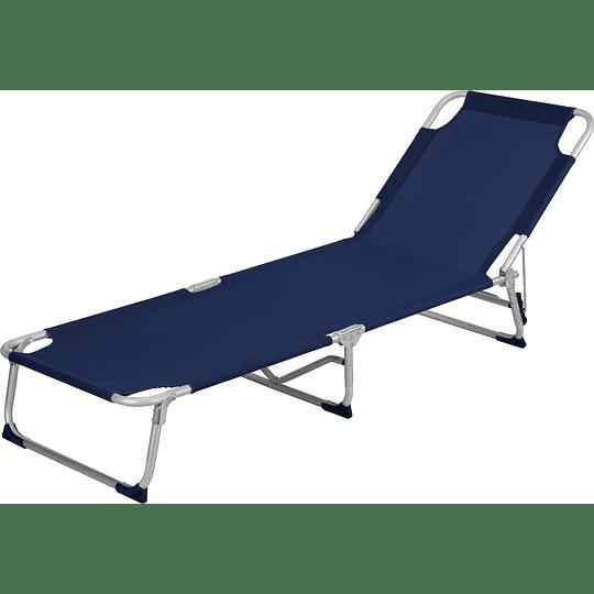 Tumbona Aluminio Piscina Azul Ref: 452782