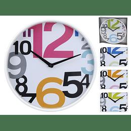 Reloj Para La Pared Cristal 30