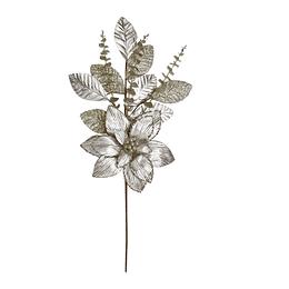 Adorno Navideño Poinsettia 75 cm