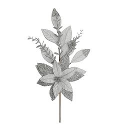 Adorno Navideño Poinsettia 65 cm