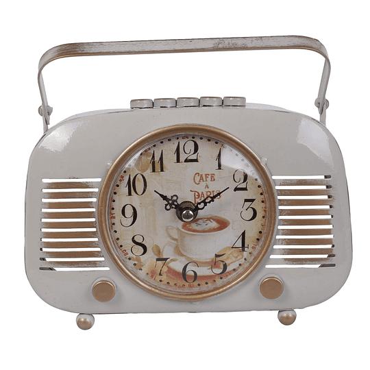 Reloj De Mesa En Forma De Radio