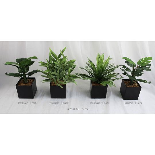 Planta Artificial con Maceta de 11.7 x 11.7 cm