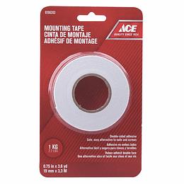 Cinta Adhesiva Doble Faz 19 mm x 3.3 m