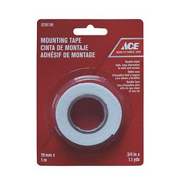Cinta Adhesiva Doble Faz 19 mm x 1 m