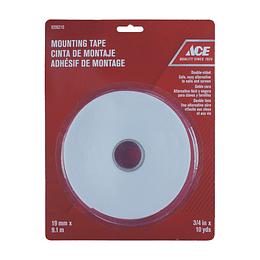 Cinta Adhesiva Doble Faz 19 mm x 9.1 m