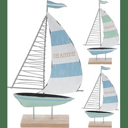 Barco Decorativo 15 x 25 cm