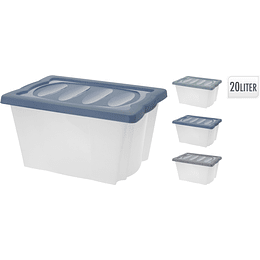 Caja Apilable Plástica 20 Litros
