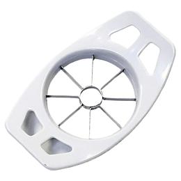 Cortador y Descorazonador De Manzanas De Acero Inoxidable Blanco