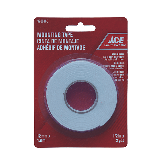 Cinta Adhesiva Doble Faz 12 mm x 1.9 m