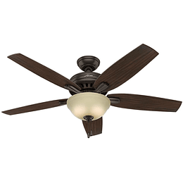 "Ventilador De Techo Newsome Collection 52"" Bowl Light Pb"
