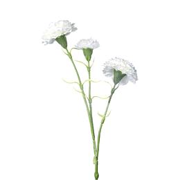 Flor Clavel Blanca 61 cm