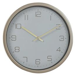 Reloj De Pared Dorado Mate 30Cm