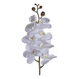 Flor Orquídea Blanca 99 Cm