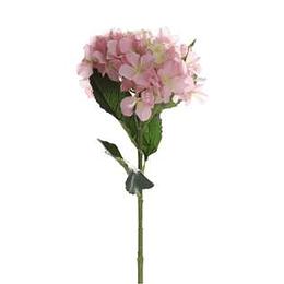 Flor Hortensia Rosado 19Cm