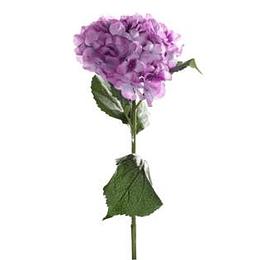 Flor Hortensia Lila 19Cm