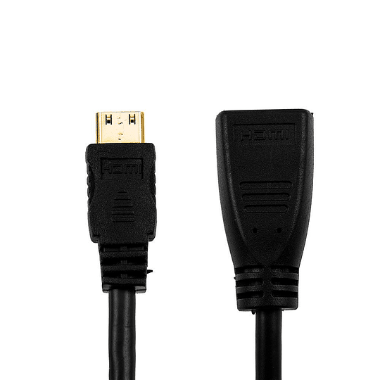 Cable adaptador mini hdmi a hdmi m/f – 15cm