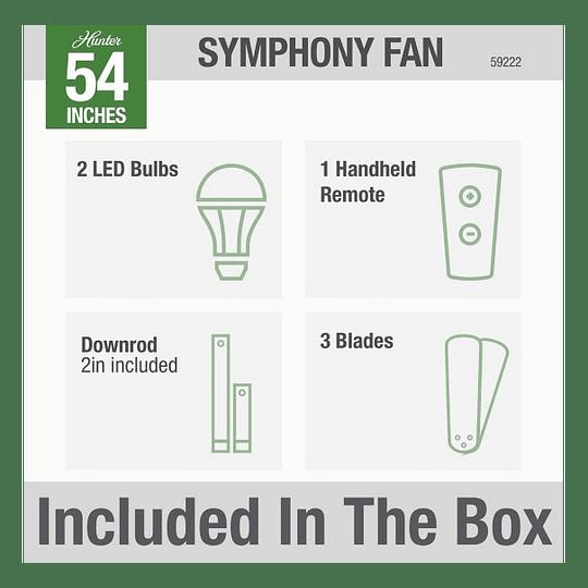Ventilador Symphony 54