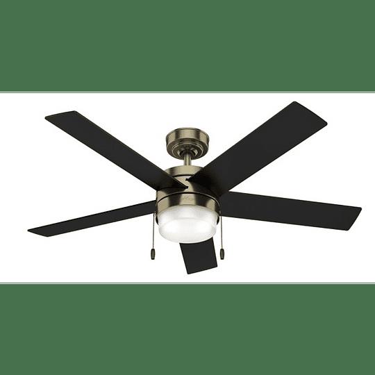 Ventilador De Techo Con Luz Claudette 52