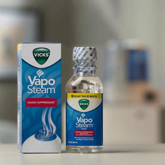 Liquido Vapor Inhalante 8 Onzas Vicks