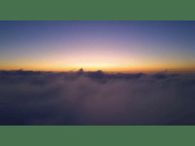 Video volando entre nubes 02 - Agustin C