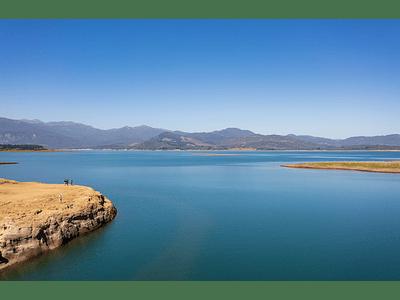 Photo Lake Colbún - El Maule Chile_0941
