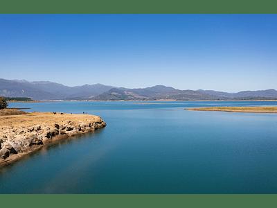 Photo Lake Colbún - El Maule Chile_0940