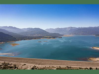 Photo Lake Colbún - El Maule Chile_0522