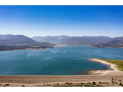 Photo Lake Colbún - El Maule Chile_0521