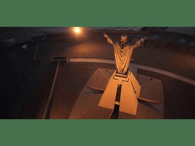 video Arica - Aerea Cristo de la Paz #005
