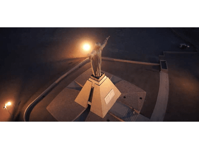 video Arica - Aerea Cristo de la Paz #006