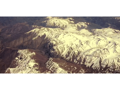 video Calama - # 0010 Snowy desert summits