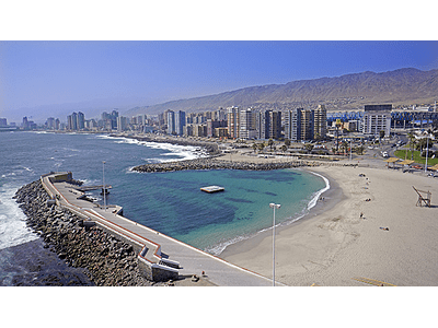 Foto Antofagasta playa artificial