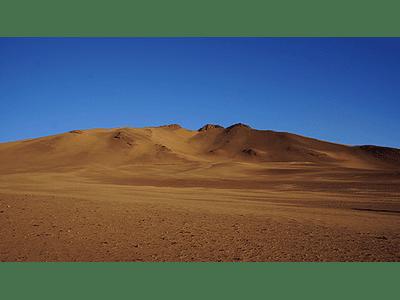 Foto Atacama desert mountains1