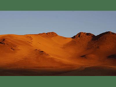 Foto Atacama desert mountains2 atardecer