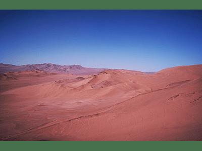 Foto Atacama desert mountains5 duna