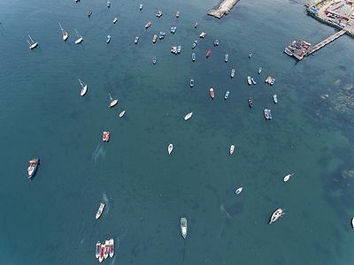 Foto botes de pesca quinteros