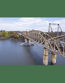 Foto Chillan rio ñuble puente tren2
