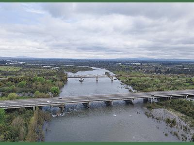 Foto Chillan Rio ñuble puentes