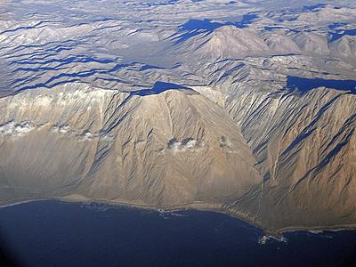Foto cordillera de la costa norte Chile