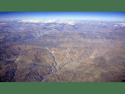 Foto Desierto y cordillera de Chile