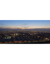 video Aerea santiago noche #001