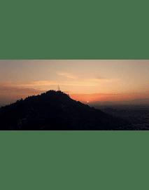 Santiago Aerial Sunset # 04