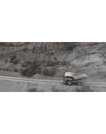 Video Aerea minería camion tolva #1