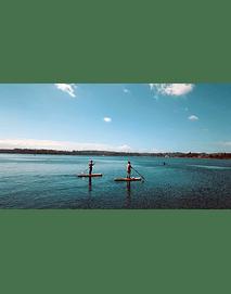 Video deporte nautico en lago llanquihue 01