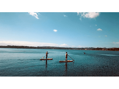 Video sport nautical in lake llanquihue 01
