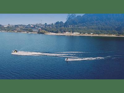 Video sport nautical in lake llanquihue 05