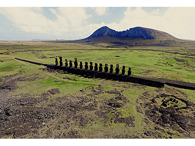 Photo 15moais Diego R - Easter Island